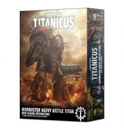 ADEPTUS TITANICUS -  WARMASTER TITAN AVEC DESTRUCTEURS À PLASMA