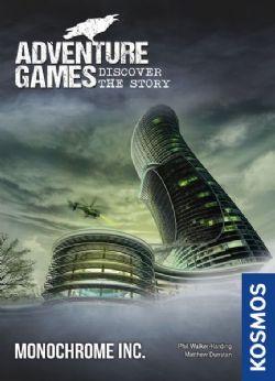 ADVENTURE GAMES -  MONOCHROME INC. (ANGLAIS)