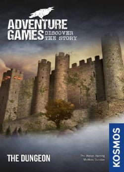 ADVENTURE GAMES -  THE DUNGEON (ANGLAIS)