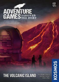 ADVENTURE GAMES -  THE VOLCANIC ISLAND (ANGLAIS)