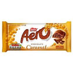 AERO -  BARRE DE CHOCOLAT CARAMEL FESTIVE (90G)