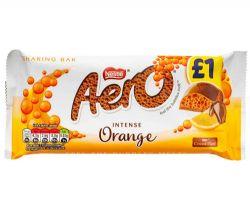 AERO -  BARRE DE CHOCOLAT ORANGE INTENSE (À PARTAGER)