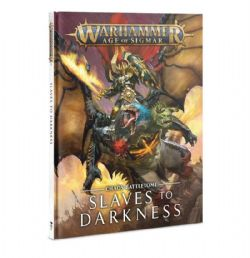 AGE OF SIGMAR -  CHAOS BATTLETOME (ANGLAIS) -  SLAVES TO DARKNESS