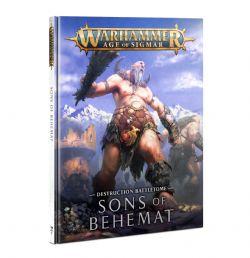 AGE OF SIGMAR -  DESTRUCTION BATTLETOME (ANGLAIS) -  SONS OF BEHEMAT