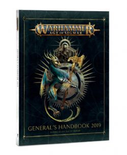 AGE OF SIGMAR -  GENERAL'S HANDBOOK 2019 (COUVERTURE SOUPLE) (ANGLAIS)