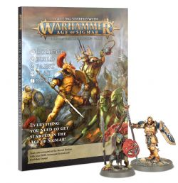 AGE OF SIGMAR -  GETTING STARTED WITH AGE OF SIGMAR (ANGLAIS)