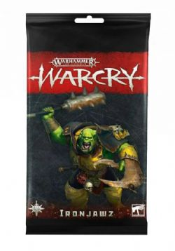 AGE OF SIGMAR -  IRONJAWZ CARD PACK (ANGLAIS) -  WARCRY
