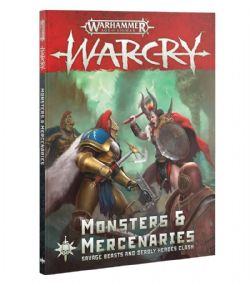 AGE OF SIGMAR -  MONSTERS & MERCENARIES (ANGLAIS) -  WARCRY