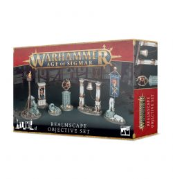 AGE OF SIGMAR -  OBJECTIVE SET -  REALMSCAPE