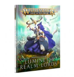 AGE OF SIGMAR -  ORDER BATTLETOME - OLD VERSION (ANGLAIS) -  LUMINETH REALM-LORDS