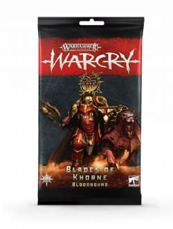 AGE OF SIGMAR : WARCRY -  CARTES BLADES OF KHORNE (ANGLAIS)