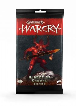 AGE OF SIGMAR : WARCRY -  CARTES DAEMONS OF KHORNE (ANGLAIS)