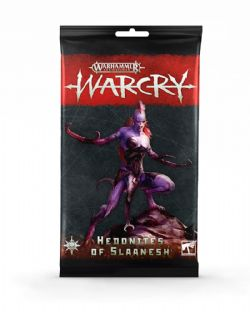 AGE OF SIGMAR : WARCRY -  CARTES HEDONITES OF SLAANESH (ANGLAIS)