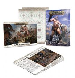 AGE OF SIGMAR -  WARSCROLL CARDS (ANGLAIS) -  SONS OF BEHEMAT