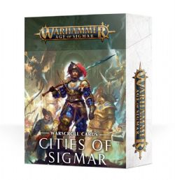 AGE OF SIGMAR -  WARSCROLL CARDS - CITIES OF SIGMAR (ANGLAIS)