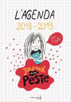 AGENDA 2018-2019 - JOURNAL D'UNE PESTE