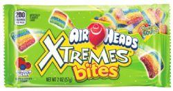 AIR HEADS -  XTREMES BITES - FRUITS ARC-EN-CIEL