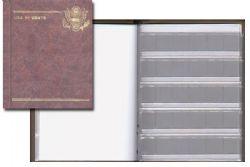 ALBUMS GARDMASTER -  ALBUM POUR 10 CENTS AMERICAINS (1809-1891) 01