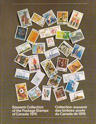 ALBUMS-SOUVENIRS -  LA COLLECTION DES TIMBRES DU CANADA 1976