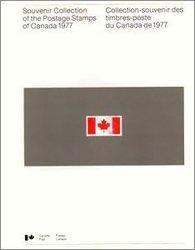 ALBUMS-SOUVENIRS -  LA COLLECTION DES TIMBRES DU CANADA 1977