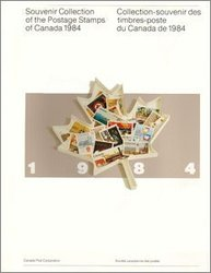 ALBUMS-SOUVENIRS -  LA COLLECTION DES TIMBRES DU CANADA 1984