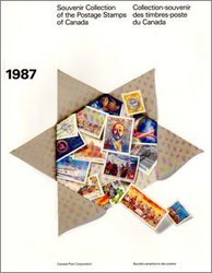 ALBUMS-SOUVENIRS -  LA COLLECTION DES TIMBRES DU CANADA 1987