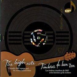 ALBUMS-SOUVENIRS -  LA COLLECTION DES TIMBRES DU CANADA 2007