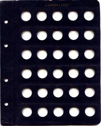 ALBUMS VISTA -  FEUILLE ADDITIONNELLE POUR 1 CENT CANADIENS (1920-2012) 02