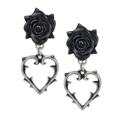 ALCHEMY GOTHIC -  BOUCLE D'OREILLE WOUNDED LOVE