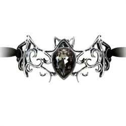 ALCHEMY GOTHIC -  BRACELET VIENNESE NIGHTS RIBBON