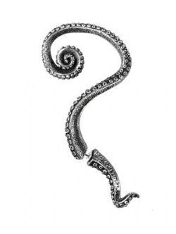 ALCHEMY GOTHIC -  Ornement d'oreille Kraken