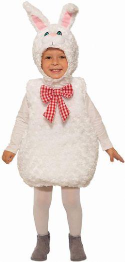 ANIMAUX -  COSTUME DE LAPIN EN PELUCHE (ENFANT)