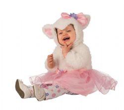 ANIMAUX -  COSTUME DE PETIT AGNEAU (ENFANT)