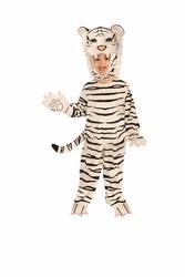 ANIMAUX -  COSTUME DE TIGRE BLANC (ENFANT) -  TIGRE