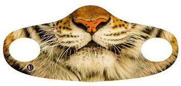 ANIMAUX -  MASQUE POUR VISAGE - TIGRE (ENFANT)
