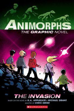 ANIMORPHS: THE GRAPHIX NOVEL -  THE INVASION 01