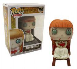 ANNABELLE -  FIGURINE POP! EN VINYLE DE ANNABELLE AVEC CHAISE (10 CM) 790