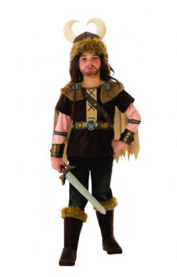 ANTIQUITÉ -  COSTUME DE VIKING (ENFANT)