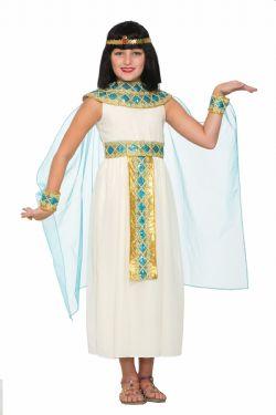 ANTIQUITE -  COSTUME DE REINE CLEOPATRE (ENFANT) -  EGYPTE