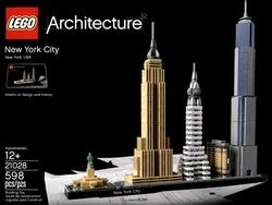ARCHITECTURE -  VILLE DE NEW YORK (598 PIÈCES) 21028