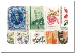 ARGENTINE -  25 DIFFÉRENTS TIMBRES - ARGENTINE