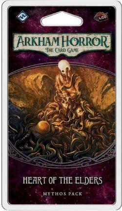 ARKHAM HORROR : THE CARD GAME -  HEART OF THE ELDERS - MYTHOS PACK (ANGLAIS)