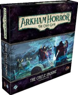 ARKHAM HORROR : THE CARD GAME -  THE CIRCLE UNDONE - EXPANSION (ANGLAIS)