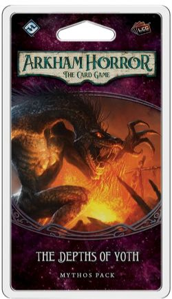 ARKHAM HORROR : THE CARD GAME -  THE DEPTHS OF YOTH - MYTHOS PACK (ANGLAIS)