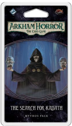 ARKHAM HORROR : THE CARD GAME -  THE SEARCH FOR KADATH (ANGLAIS) -  THE DREAM-EATERS 2