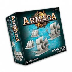 ARMADA : THE GAME OF EPIC NAVAL WARFARE -  BASILEAN BOOSTER FLEET (ANGLAIS)