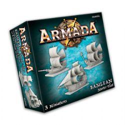ARMADA : THE GAME OF EPIC NAVAL WARFARE -  BASILEAN STARTER FLEET (ANGLAIS)