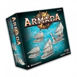 ARMADA : THE GAME OF EPIC NAVAL WARFARE -  ORC BOOSTER FLEET (ANGLAIS)