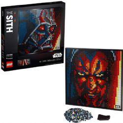 ART -  LE SITH (3406 PIÈCES) -  STAR WARS 31200