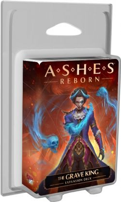 ASHES REBORN -  THE GRAVE KING (ANGLAIS) -  EXPANSION DECK